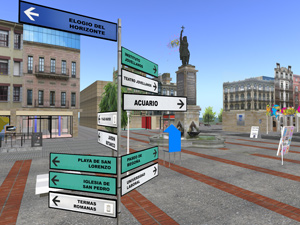 A translator can make exploring foreign language sims easier